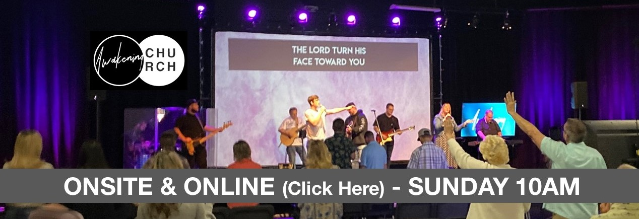 Onsite and Online - Sunday 10am
